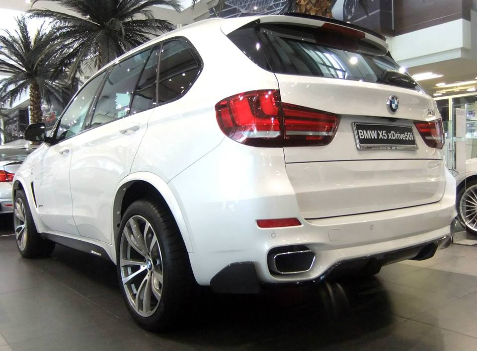 BMW X5 F15 M Performance Parts and US Price List