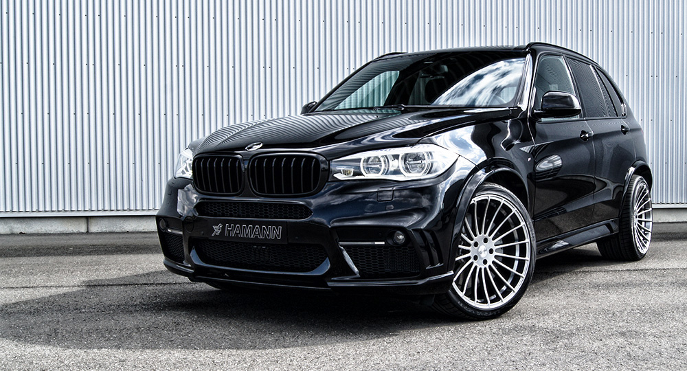 Hamann Bmw X5 F15 Tuning Program