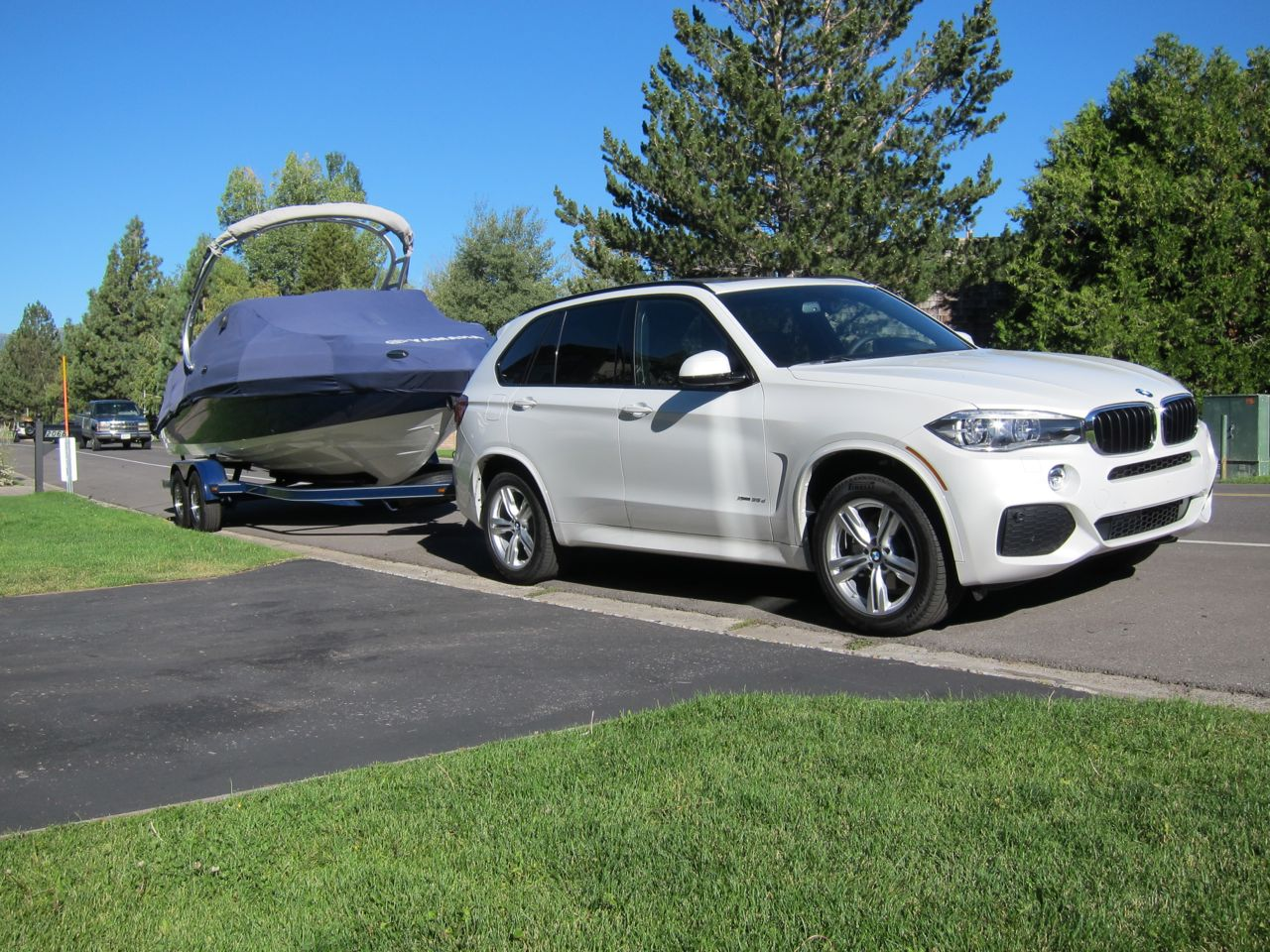 Bmw X5 Towing >> 35d Towing Impressions