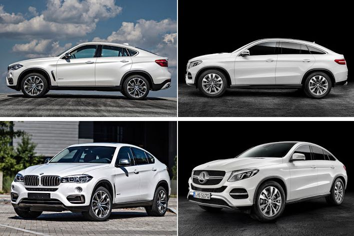 2015 Bmw X6 M50d Vs 2015 Mercedes Benz Gle Coup 233 450 Amg Sport Photo Comparo Page 4