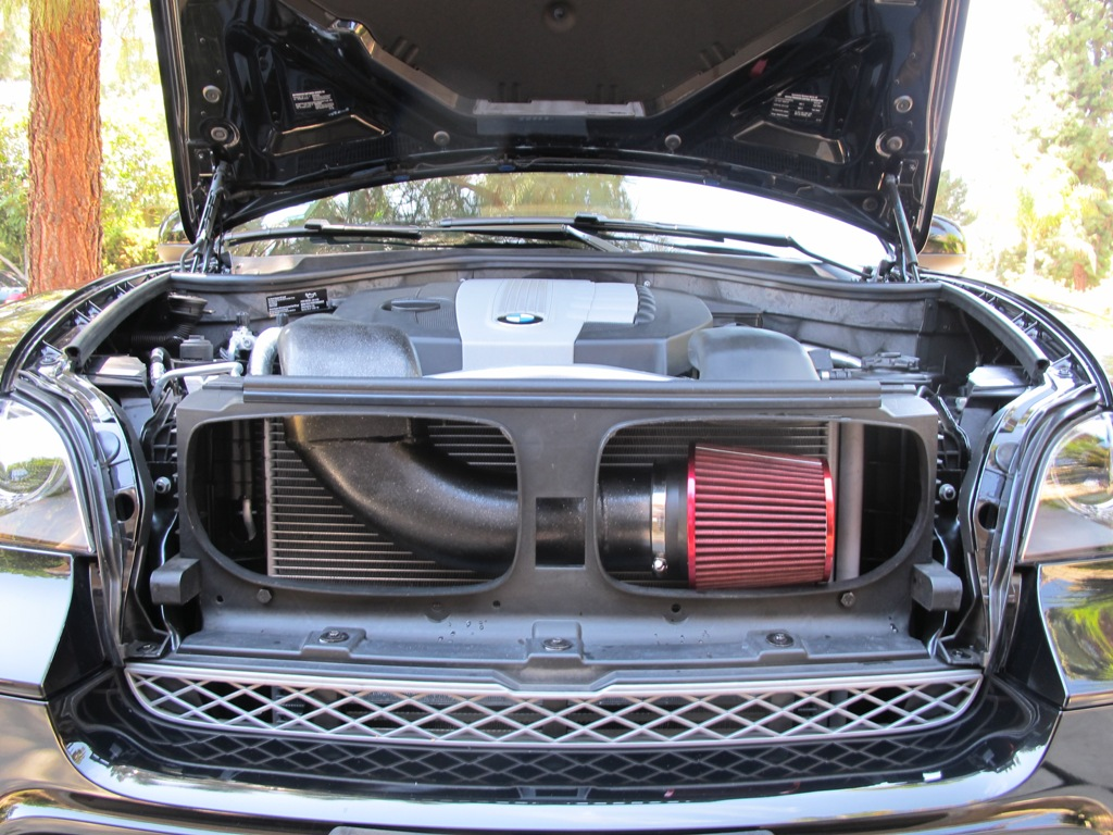 I wasn t planning on going without an air filter i was probably going to fabricate something that would look like this