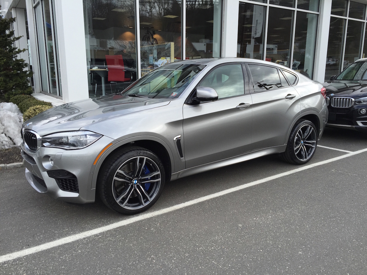 Delivered X6m Donington Grey 2015 Pics To Chrome Or