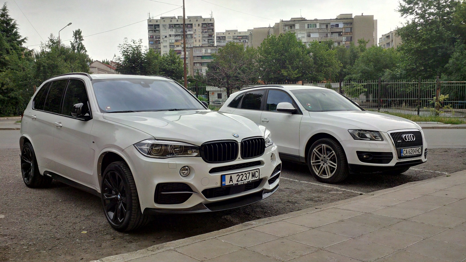 Pictures X5 Vs Q5 Attached Images