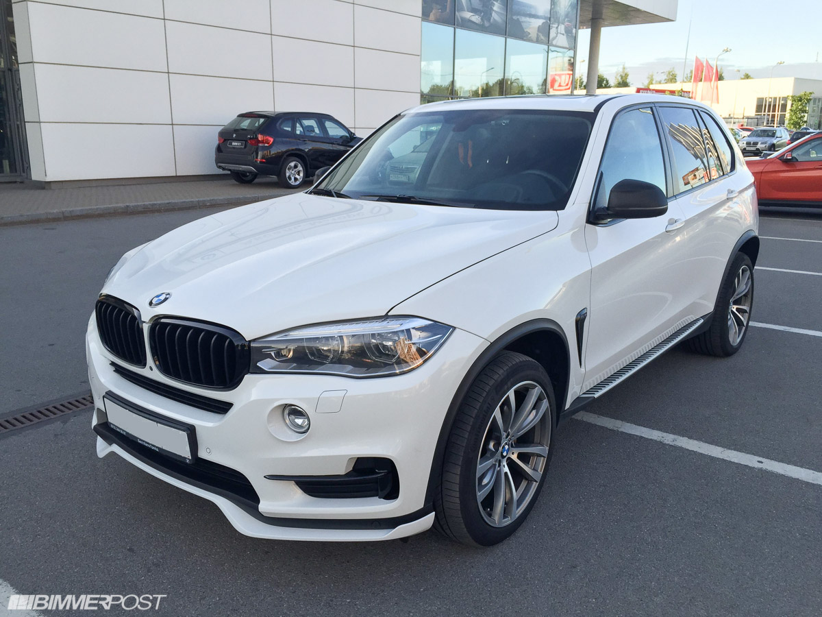 New Aero Kit Package For Non M Sport X5