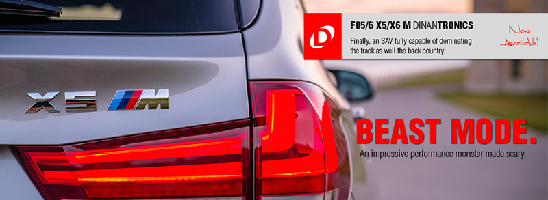 DINANTRONICS For F85 X5M, F86 X6M Available Oct  2nd - BMW