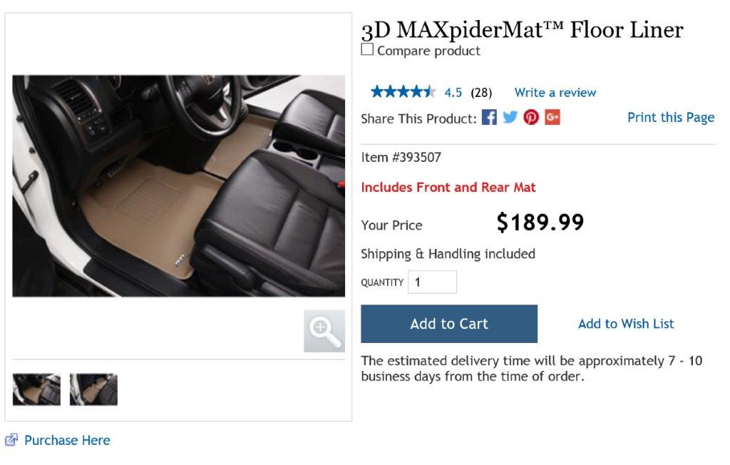 Models F15 Kagu Rubber 3D MAXpider Custom Fit All-Weather Cargo Liner for Select BMW X5 Black