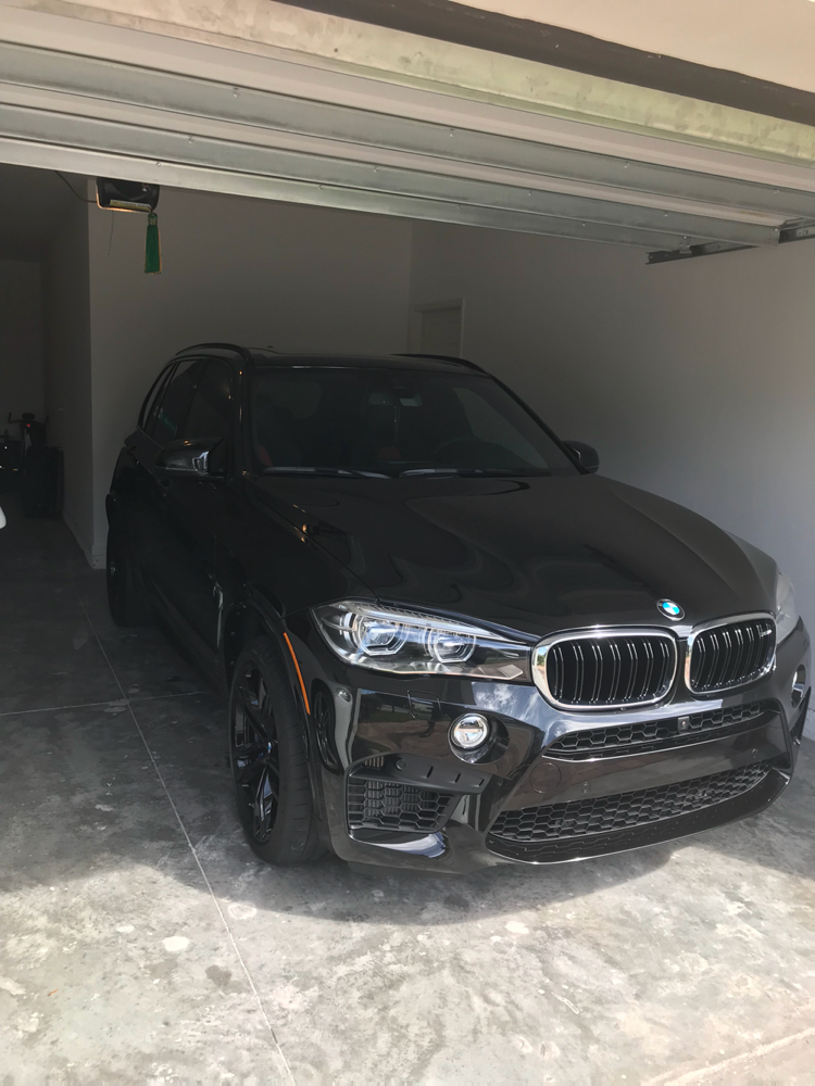 2018 X5 M Black Fire Edition Delivered