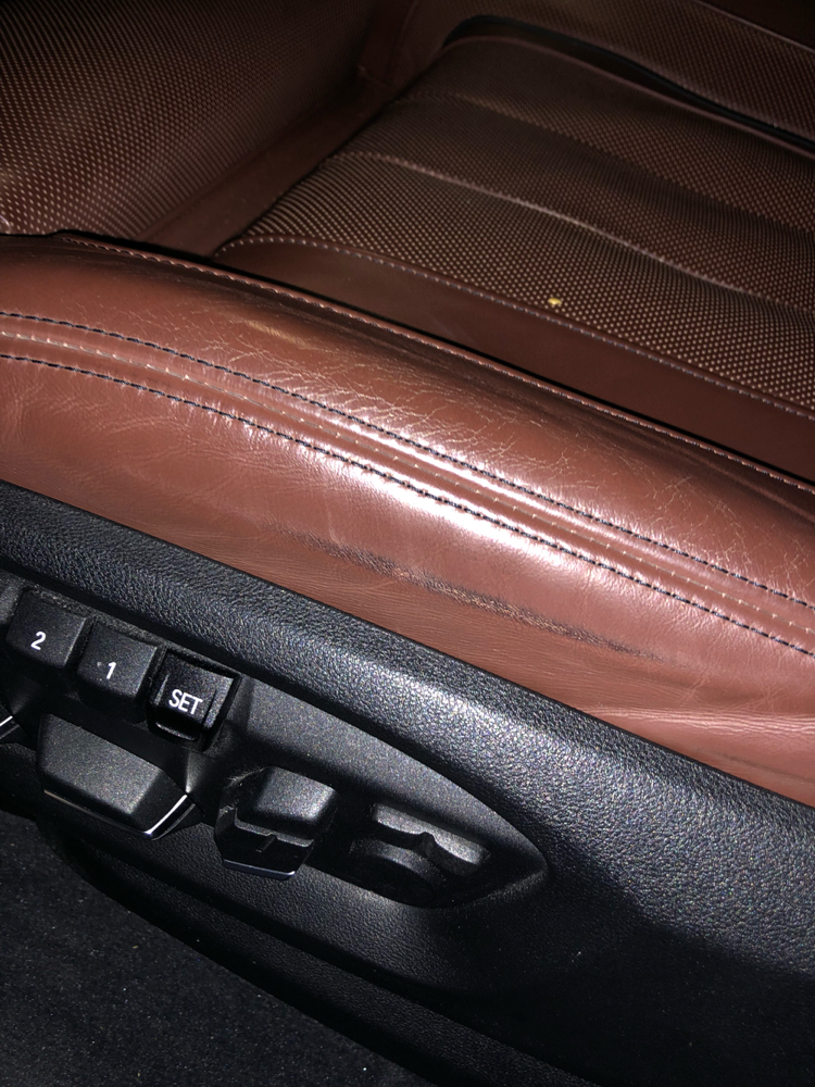 Drivers Side Seat Leather Cracking Warranty Claim Page 4 Bmw X5 And X6 Forum F15 F16