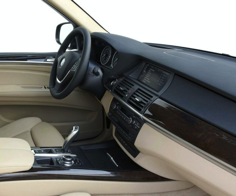 First Look At Interior Of 2014 Bmw X5 F15 Touchpad