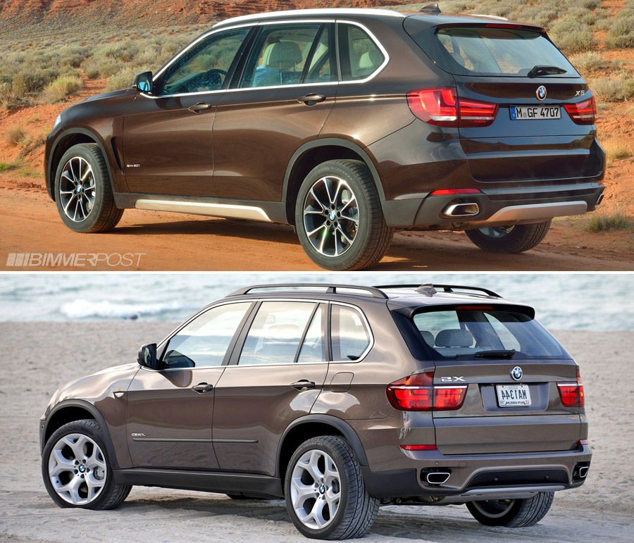 A Look At Bmw X5 F15 Versus Outgoing X5 E70 Which Do You Prefer