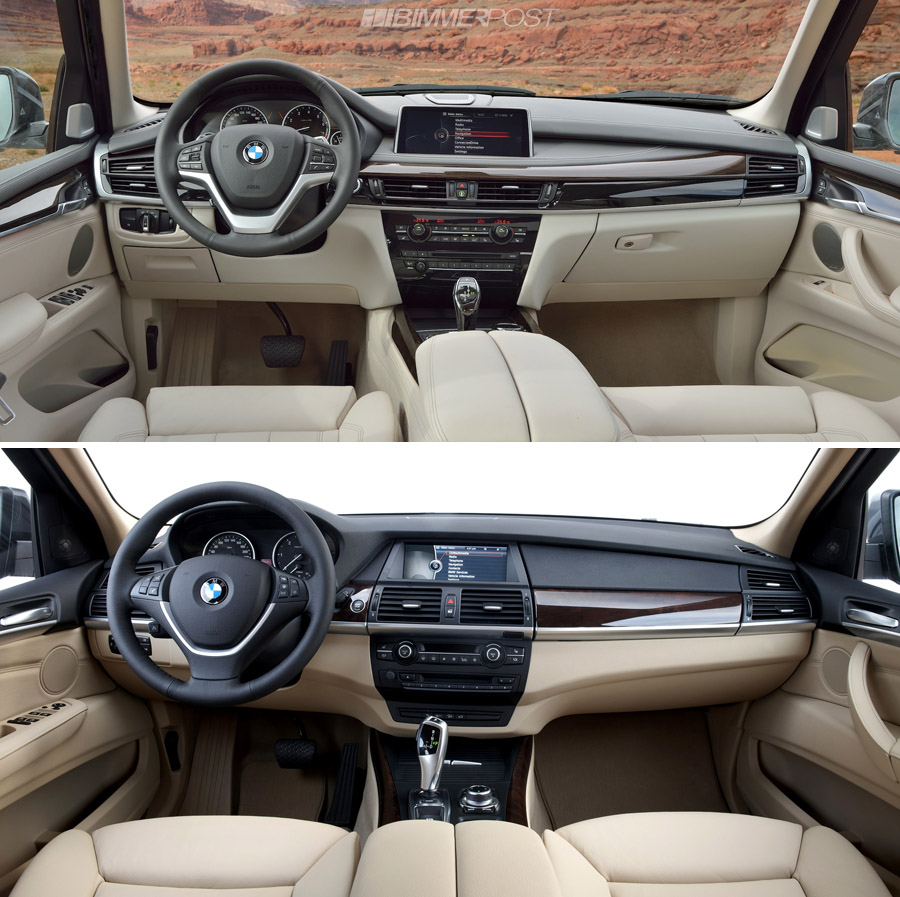 a look at bmw x5 f15 versus outgoing x5 e70. which do you prefer?