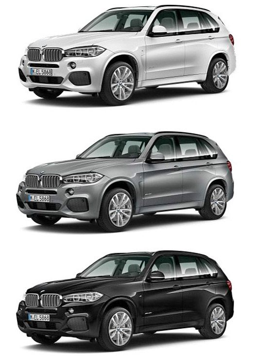 First Pics Of 2014 Bmw X5 In M Sport M50d And Luxury Line
