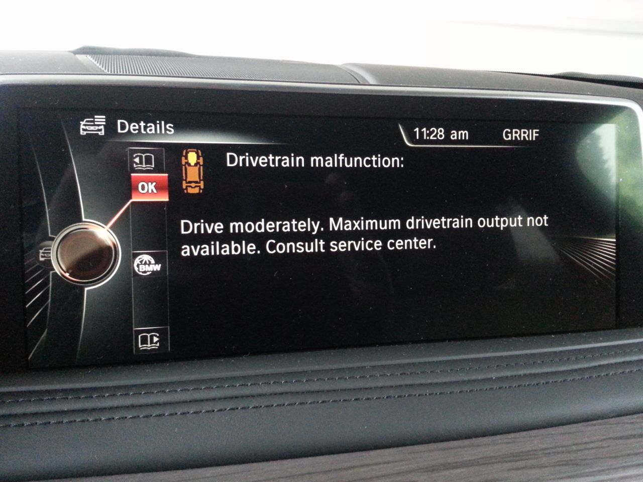Bmw F30 Drivetrain Malfunction