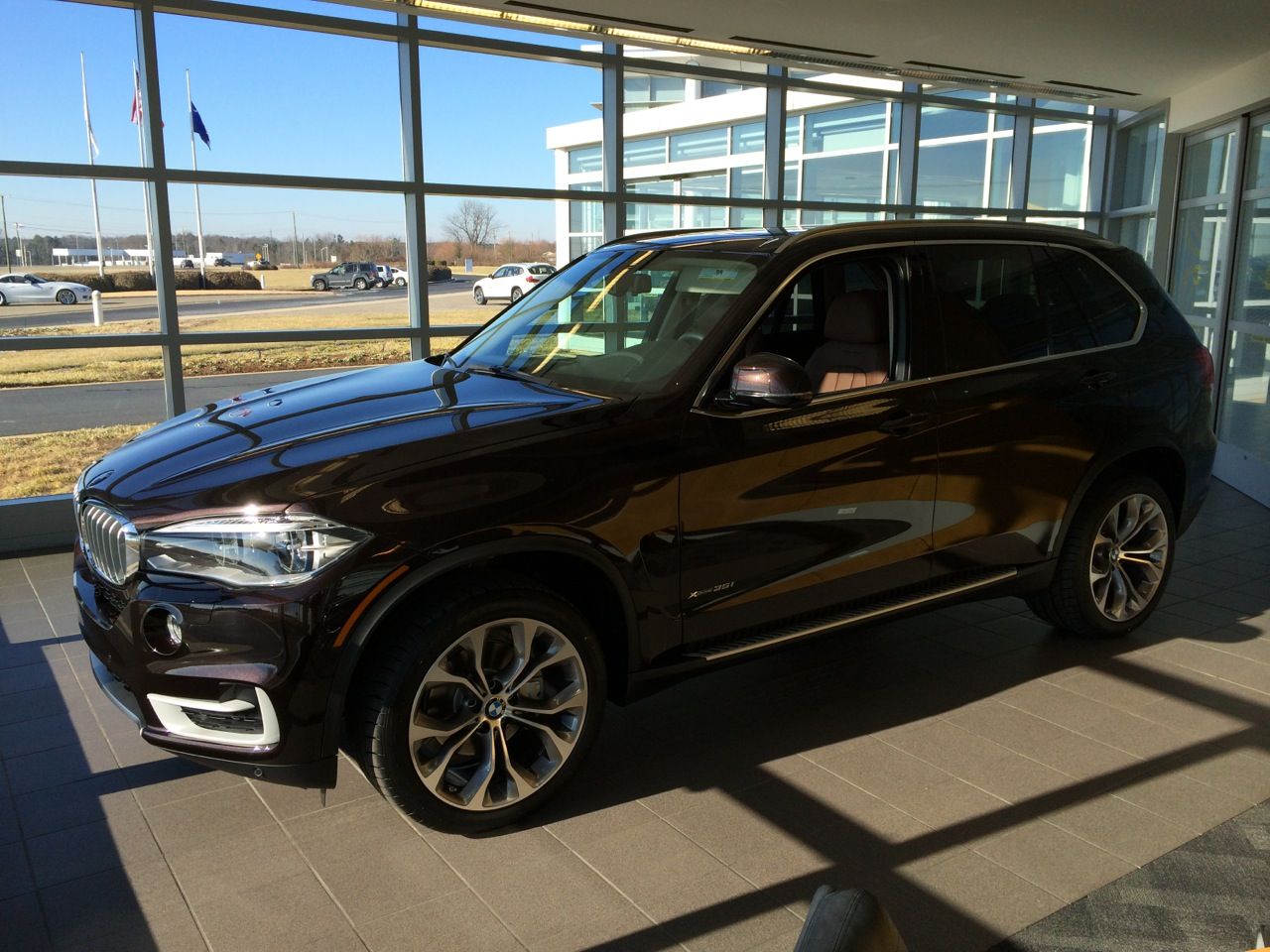 Bmw Performance Center >> Performance Center Delivery of Sparking Brown / Terra xDrive35i
