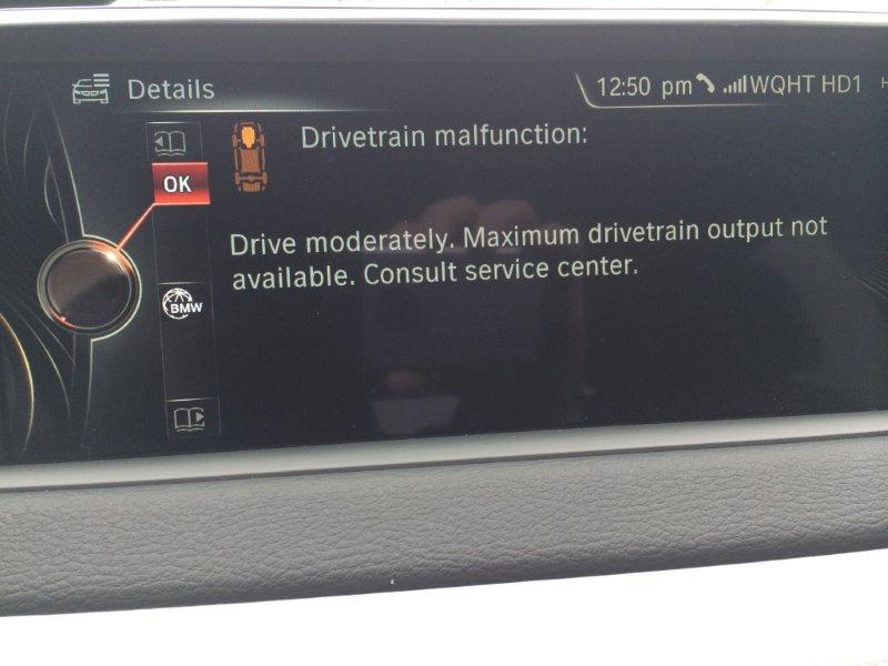 Drivetrain Malfunction