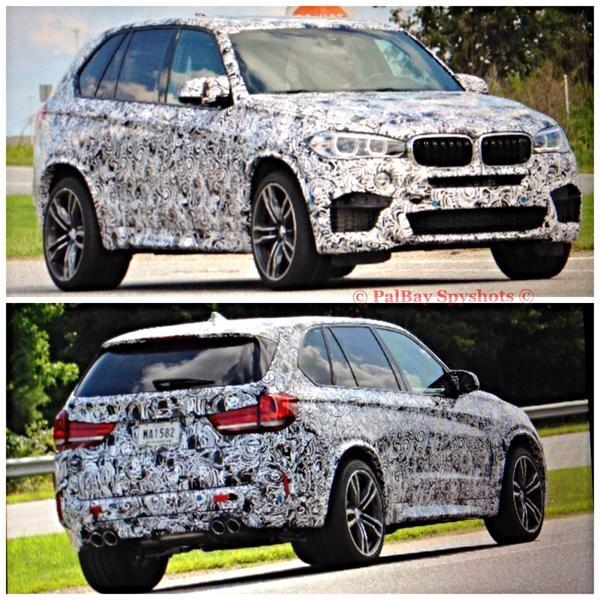 Bmw X6 Production: 2015 BMW X5 M Spied With Production Wheels
