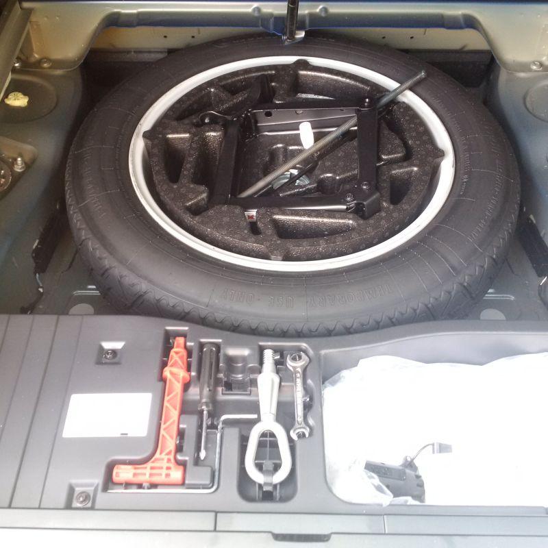 No Space Saver Spare Tire In Canada
