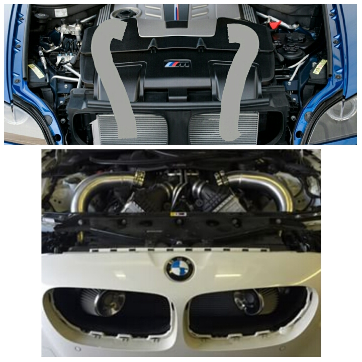 Bmw Z4 Magnaflow Exhaust: Examining The F85 X5M: The Air Intake System