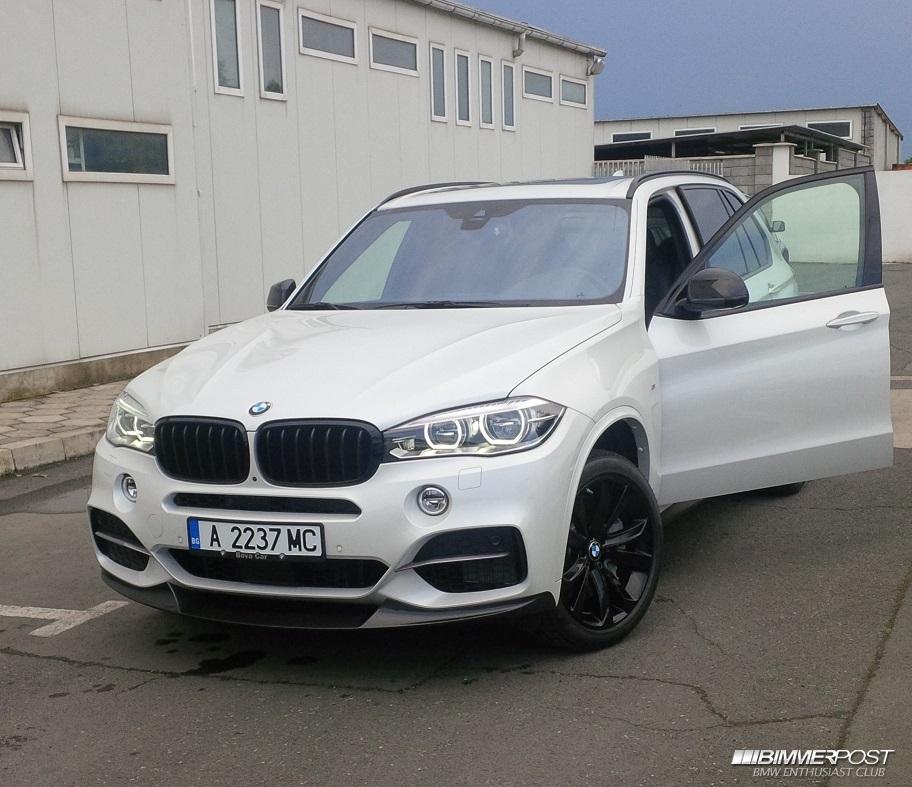 Bmw X6 Problems Forum: Teodorjelev's 2015 BMW X5 M50d