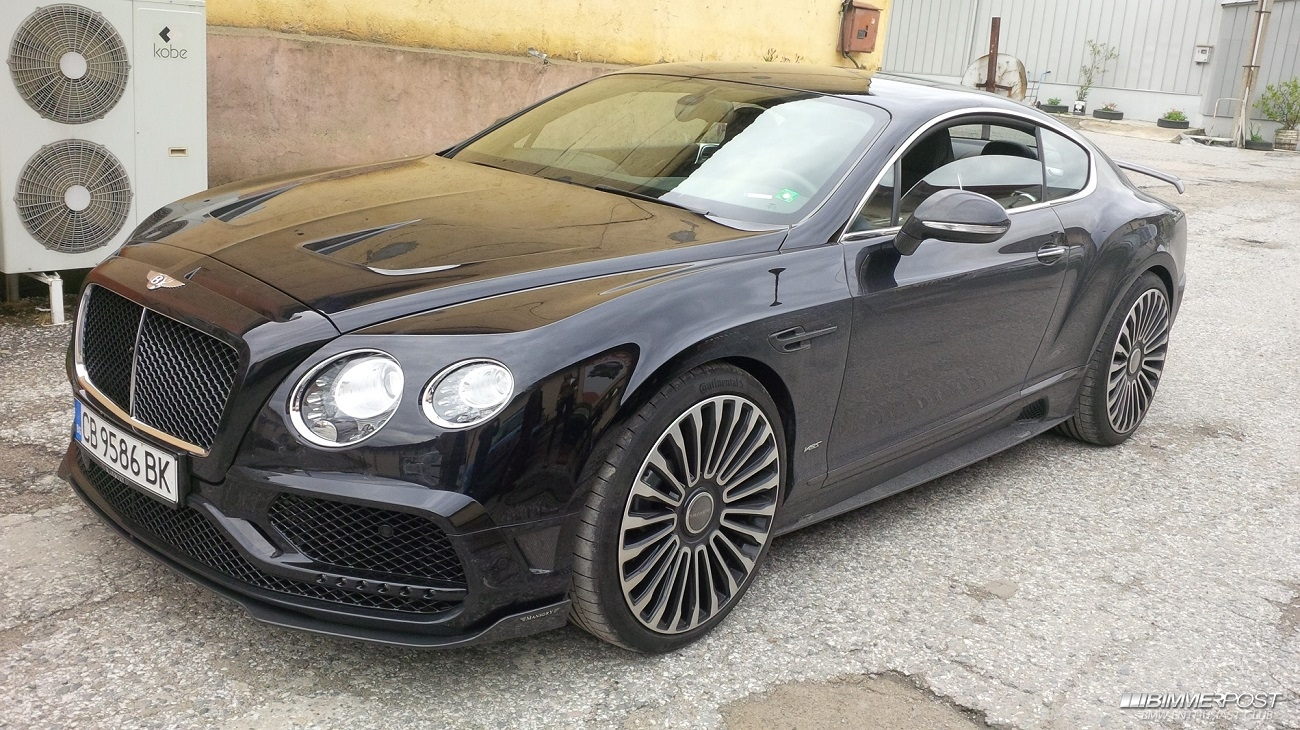 Teodorjelev S 2016 Bentley Continental Gt Mansory